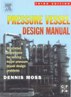 کتاب طراحی مخازن تحت فشار نوشته DENNIS MOSS